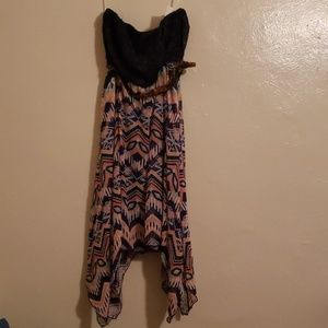 NWT Strapless dress